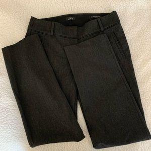 5 for $15 LOFT dark gray dress pants